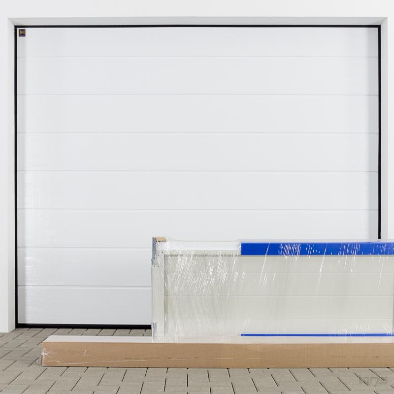 h rmann sectionaltor epu40 3000x2000mm 9016 verkehrswei garagentor rolltor ebay. Black Bedroom Furniture Sets. Home Design Ideas