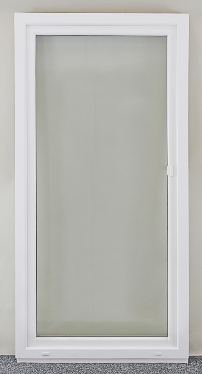 Relativ Balkontür 1100x2100mm DKR Kunststoff Terrassentür Glastür  ED39