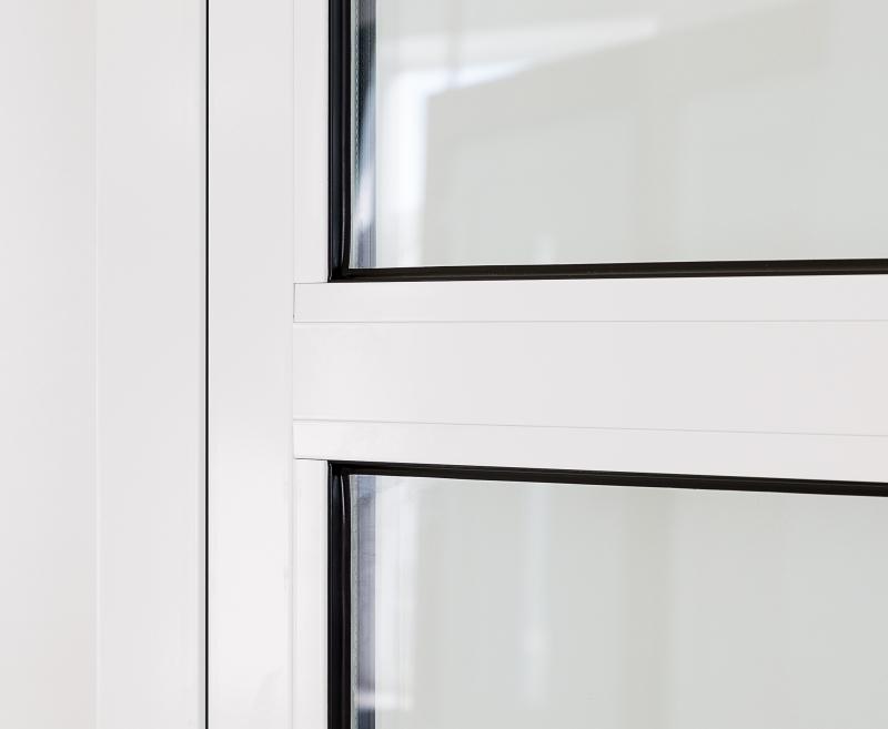 Kellertür außen  Aluminium Nebentür DIN rechts nach außen Garagentür Kellertür ...