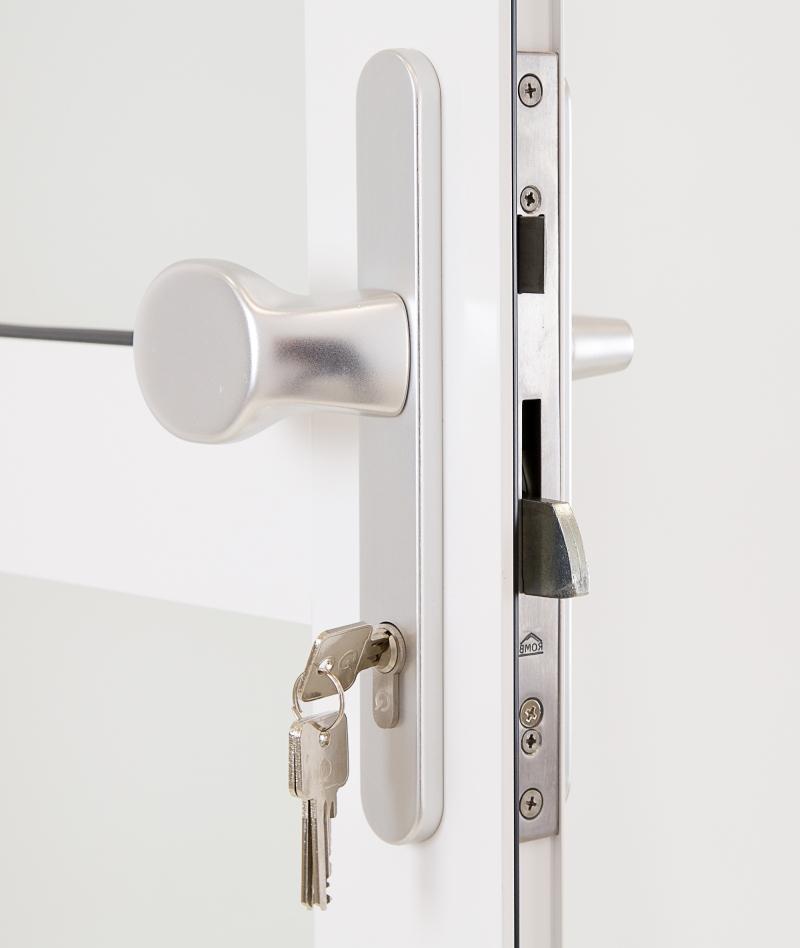 Kellertür außen  Aluminium Nebentür DIN links nach außen Garagentür Kellertür ...